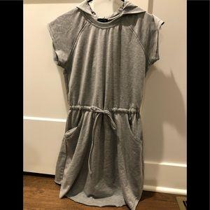 Rue 21. Gray hooded knit dress. Small
